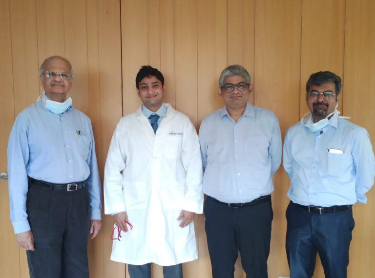Jupiter Hospital conducts India's first pediatric living donor small intestinal transplant