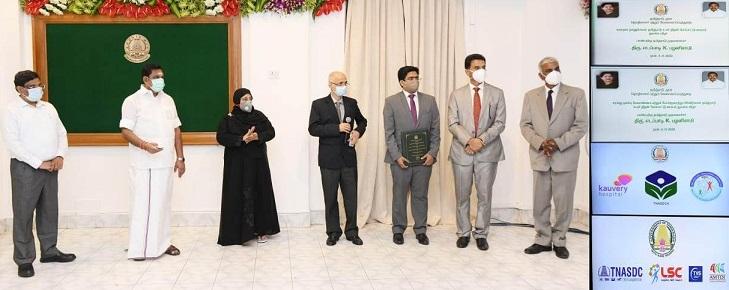 Kauvery Hospital and Tamil Nadu Skill Development Corporation Joins Hands to Upskill Healthcare Professionals