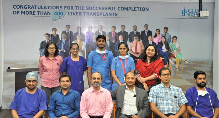 Global Hospital, Mumbai team first to perform more than 400 liver transplants in Western India celebrates 6 years anniversary