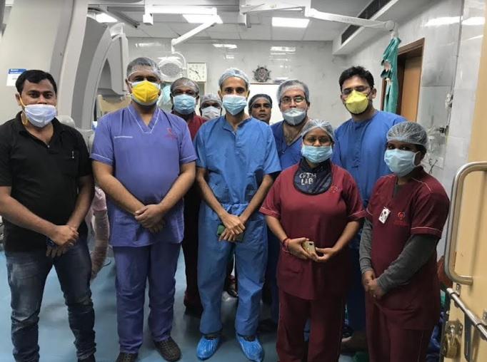 Chennai Based Doctor Proctors the First Laser Atherectomy in India