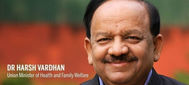Health Minister Dr Harsh Vardhan unveils a state-of-the-art blood screening Lab by Thalassemia Patients Advocacy Group at Indian Red Cross Society National headquarters