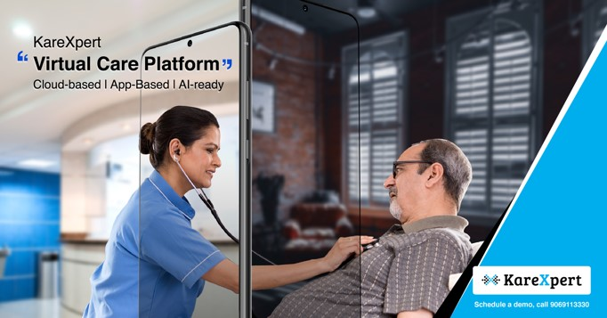 Healthcare start-up KareXpert launches Virtual Care Platform, Helps Hospitals in Treating both covid and non-covid Patients