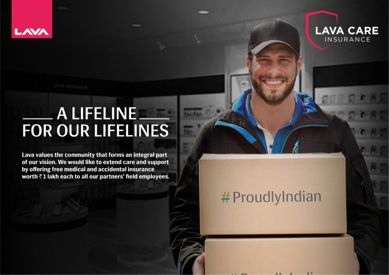 LAVA becomes the first mobile phone company to provide medical & accidental insurance cover to its partners' field   employees